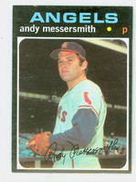 1971 Topps Baseball 15 Andy Messersmith California Angels Excellent