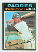 1971 Topps Baseball 25 Clarence Gaston San Diego Padres Excellent