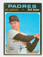 1971 Topps Baseball 6 Ed Spiezio San Diego Padres Excellent to Mint
