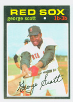 1971 Topps Baseball 9 George Scott Boston Red Sox Excellent to Mint