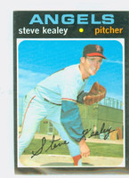 1971 Topps Baseball 43 Steve Kealey California Angels Excellent to Mint