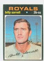 1971 Topps Baseball 17 Billy Sorrell Kansas City Royals Near-Mint