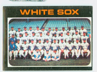 1971 Topps Baseball 289 White Sox Team Very Good to Excellent