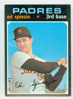 1971 Topps Baseball 6 Ed Spiezio San Diego Padres Excellent to Excellent Plus