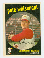 1959 Topps Baseball 14 Pete Whisenant Cincinnati Reds Excellent