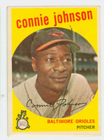 1959 Topps Baseball 21 Connie Johnson Baltimore Orioles Excellent