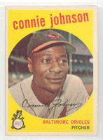 1959 Topps Baseball 21 Connie Johnson Baltimore Orioles Excellent to Mint