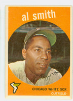 1959 Topps Baseball 22 Al Smith Chicago White Sox Very Good to Excellent