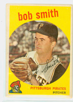1959 Topps Baseball 83 Bob Smith Pittsburgh Pirates Very Good to Excellent