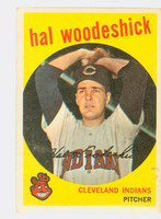 1959 Topps Baseball 106 Hal Woodeshick Cleveland Indians Very Good