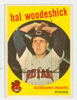 1959 Topps Baseball 106 Hal Woodeshick Cleveland Indians Very Good to Excellent