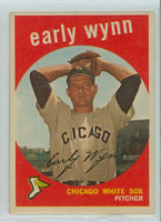 1959 Topps Baseball 260 Early Wynn Chicago White Sox Very Good to Excellent