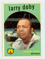 1959 Topps Baseball 455 Larry Doby Cleveland Indians Very Good to Excellent