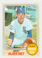 1968 Topps Baseball 14 Jerry McNertney Chicago White Sox Near-Mint