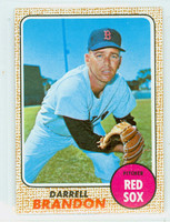1968 Topps Baseball 26 Darrell Brandon Boston Red Sox Near-Mint to Mint