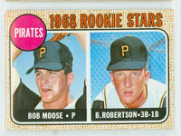 1968 Topps Baseball 36 Pirates Rookies Near-Mint