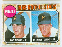 1968 Topps Baseball 36 Pirates Rookies Near-Mint Plus