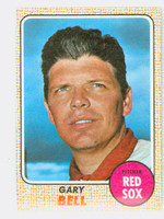1968 Topps Baseball 43 Gary Bell Boston Red Sox Near-Mint Plus