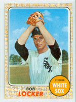 1968 Topps Baseball 51 Bob Locker Chicago White Sox Near-Mint Plus