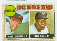 1968 Topps Baseball 56 Orioles Rookies Good to Very Good