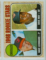 1968 Topps Baseball 56 Orioles Rookies Near-Mint to Mint