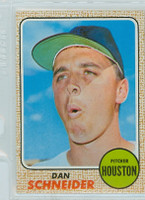 1968 Topps Baseball 57 Dan Schneider Houston Astros Near-Mint Plus