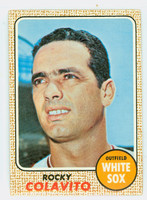 1968 Topps Baseball 99 Rocky Colavito Chicago White Sox Good to Very Good