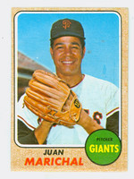 1968 Topps Baseball 205 Juan Marichal San Francisco Giants Good to Very Good