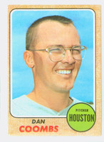 1968 Topps Baseball 547 Dan Coombs High Number Houston Astros Excellent to Excellent Plus