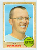 1968 Topps Baseball 547 Dan Coombs High Number Houston Astros Excellent to Mint