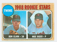 1968 Topps Baseball 589 Twins Rookies High Number Excellent to Excellent Plus