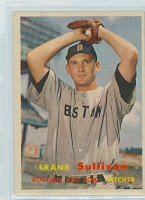 1957 Topps Baseball 21 Frank Sullivan