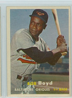 1957 Topps Baseball 26 Bob Boyd