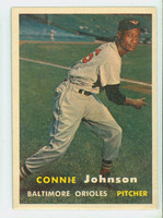 1957 Topps Baseball 43 Connie Johnson Baltimore Orioles Very Good