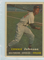 1957 Topps Baseball 43 Connie Johnson Baltimore Orioles Very Good to Excellent