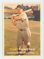 1957 Topps Baseball 51 Clint Courtney Washington Senators Very Good