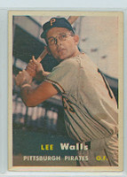1957 Topps Baseball 52 Lee Walls Pittsburgh Pirates Near-Mint