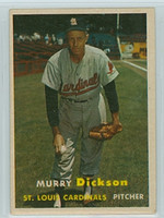 1957 Topps Baseball 71 Murry Dickson St. Louis Cardinals Excellent