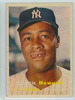1957 Topps Baseball 82 Elston Howard New York Yankees Very Good