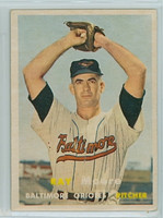 1957 Topps Baseball 106 Ray Moore