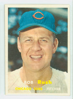 1957 Topps Baseball 137 Bob Rush Chicago Cubs Near-Mint