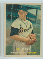 1957 Topps Baseball 141 Al Aber
