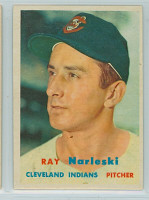 1957 Topps Baseball 144 Ray Narleski