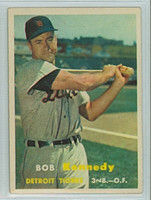 1957 Topps Baseball 149 Bob Kennedy Detroit Tigers Very Good to Excellent