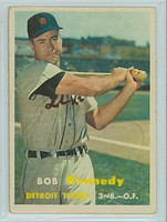 1957 Topps Baseball 149 Bob Kennedy Detroit Tigers Excellent