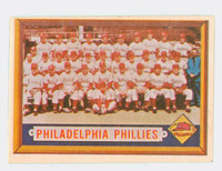 1957 Topps Baseball 214 Phillies Team Very Good to Excellent
