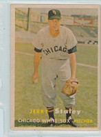 1957 Topps Baseball 227 Jerry Staley Chicago White Sox Very Good to Excellent
