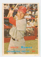1957 Topps Baseball 231 Solly Hemus Philadelphia Phillies Very Good
