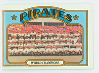 1972 Topps Baseball 1 Pirates Team Very Good to Excellent