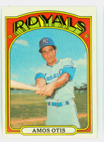 1972 Topps Baseball 10 Amos Otis Kansas City Royals Excellent